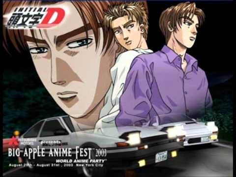 Initial D OST (English) - Initialize (opening Theme)