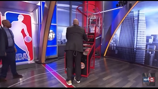 EJ's Neato Stat: Competing in a Game of Pop-a-Shot | Inside the NBA | NBA on TNT