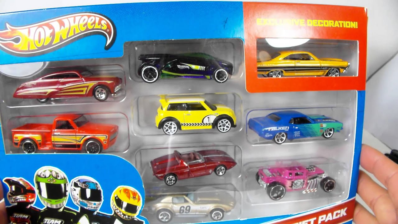 G CASE CARS in HOT WHEELS gift packs NOW!!! which one do i open ...