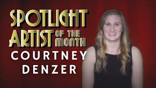 Courtney Denzer - BTC Artist of the Month April 2021