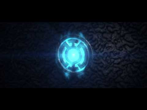 Blue Lantern Flash - After Effects Element 3D motion graphics - CabooseXBL Intro