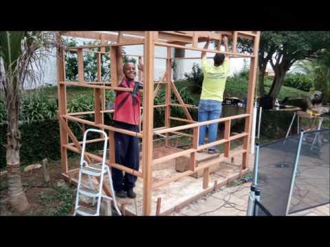 Construção de Sauna Seca Cabine