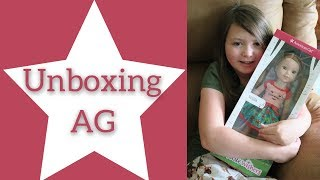 American Girl Willa Wellie Wisher Unboxing