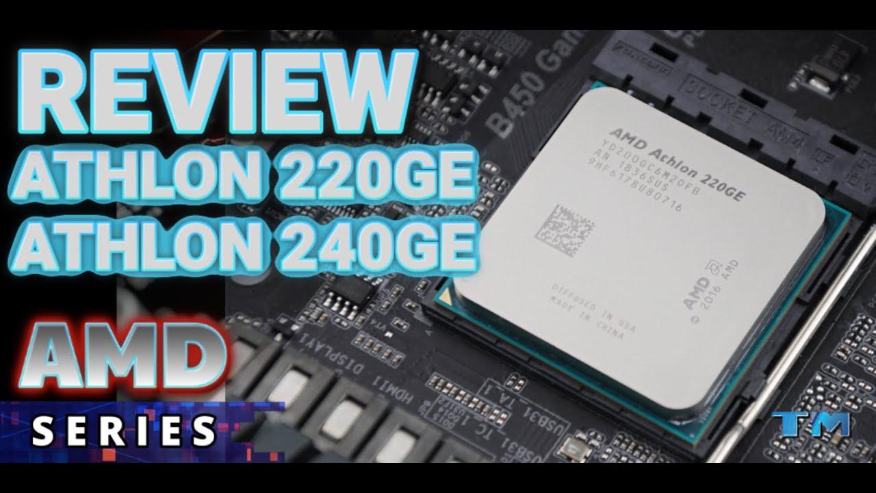 Athlon 220ge Vs Athlon 240ge Specification Performance Render Test Youtube