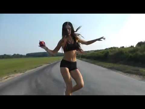 Slovakia Girl Christy C. shuffle dance