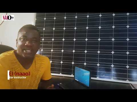 SOLAR ENERGY IN GHANA !! INTRODUCTION