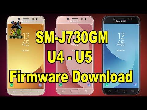 SM-J730GM U4 U5 Firmware Download - YouTube