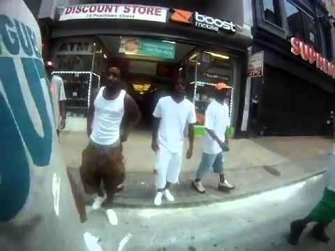 Security Guard Is Crazy For Fighing Drug Dealers