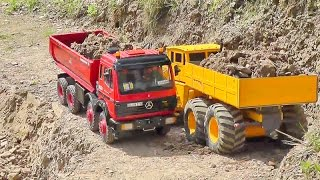 RC CONSTRUCTION MINE! AWESOME RC MACHINES ON THE BIGGEST MINE!