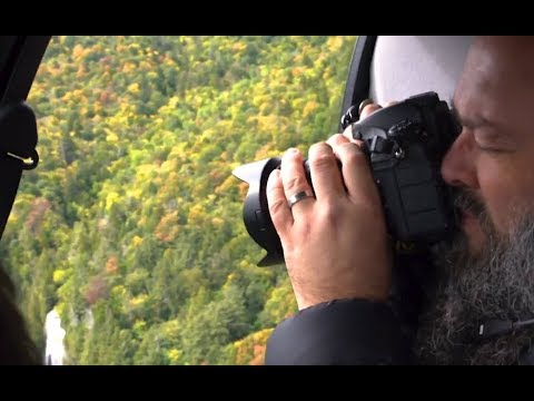 Photographer Kurt Gardner uses the SP 24-70mm F/2.8 G2 to capture some fall foliage from the sky.