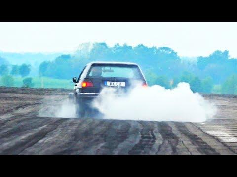 FAIL Boba VW Golf MK2 Turbo Acceleration U0026 Sound