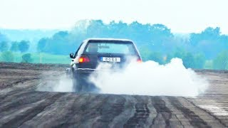 FAIL Boba VW Golf MK2 Turbo Acceleration Sound