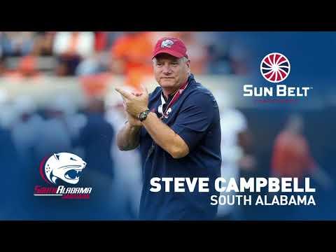 South Alabama Steve Campbell Media Teleconference (8/26/19)
