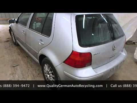 Used Volkswagen Parts - QG Auto Parts