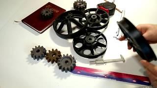 обзор шкив к бетономешалке альтрад Altrad