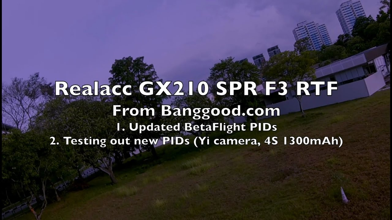 Realacc GX210 SP Racing F3 RTF – Part 3/3 – Impr…