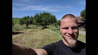 neuer Geohobel 1,50m - Ersteinsatz im Waldgarten