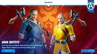 "NEW ""GAN"" SKIN in Fortnite Chapter 2! - Fortnite Item Shop LIVE (January 23rd, 2020)"