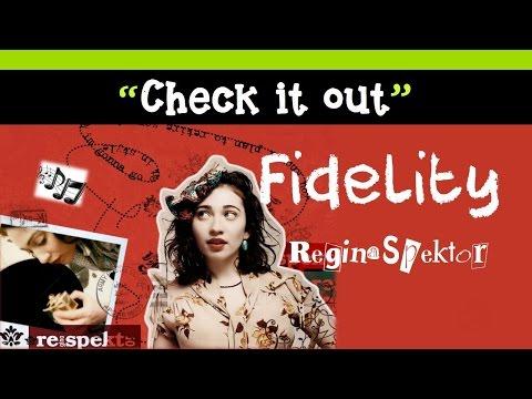 Regina Spektor - Fidelity + Lyrics