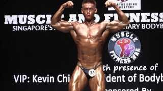 Muscle War 2014 - Mitcher Pang