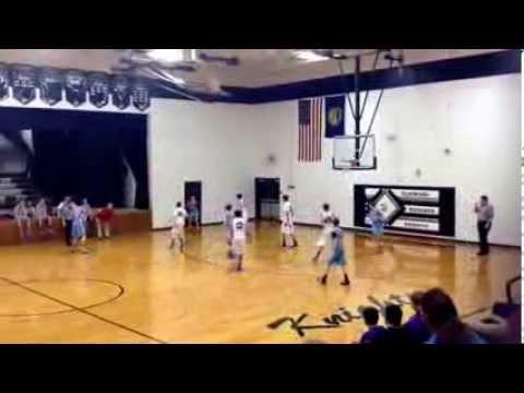 Ralston vs. Nebraska City Lourdes, final game