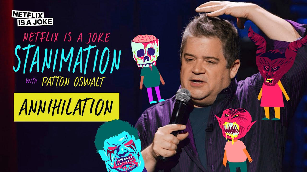 Download Patton Oswalt On The Haunted House That Made Him Almost Sh*t His Pants Off | Stanimation
