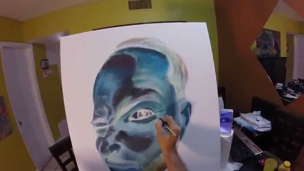 Inverted Colors Art By Amado Youtube