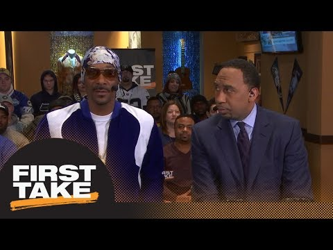 Snoop Dogg makes his Super Bowl LII prediction: Eagles or Patriots? | First Take | ESPN