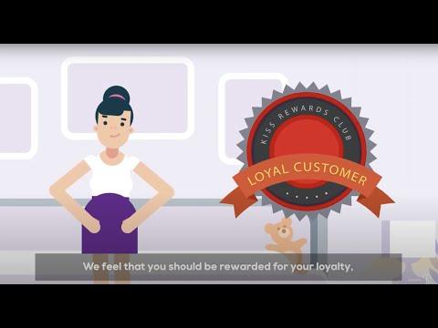 Kiss Rewards Club Video for Patients