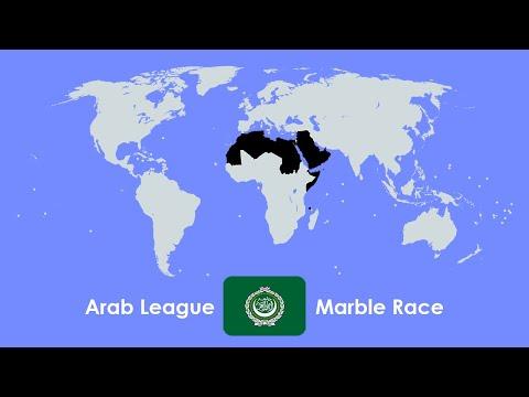 Marble Race - Arab League