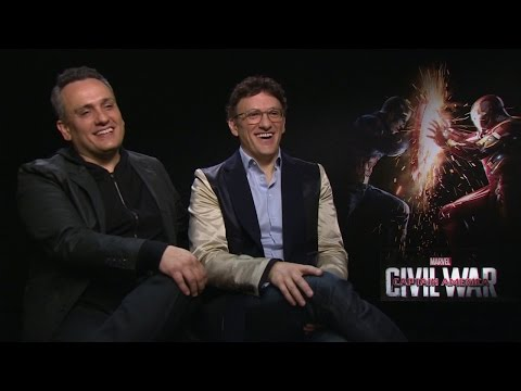 CAPTAIN AMERICA: The Russo Brothers talk Civil War, Infinity War and Spider-Man