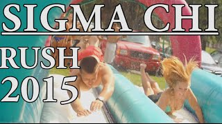 Sigma Chi Butler University Rush 2015
