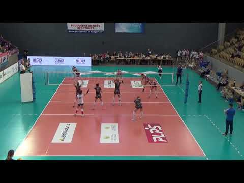 Anna Bączyńska OUTSIDE HITTER Polish League 2017-2018 nr 10 dark shirt