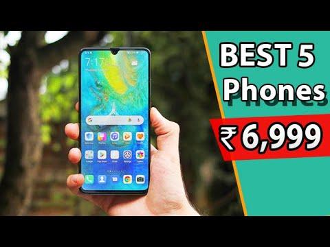 Top 5 Best Smartphones Under 7000 in India 2020 l Top Phones Under 7000 in 2020