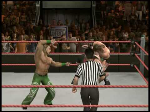 WWE SmackDown V.S RAW 2010 Sweet Chin Music Into A Pedigree