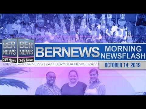 Bermuda Newsflash For Monday, October 14, 2019