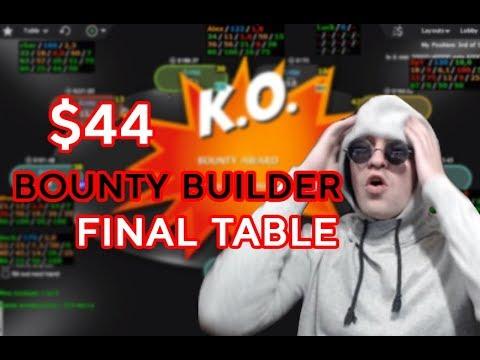 10 000$ ЗА ПЕРВОЕ!!! Bounty Builder 44$ - Финальный стол, запись со стрима Spr3216