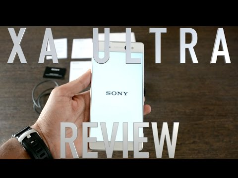 Sony Xperia XA Ultra White color Review: An Ultra Experience compromised