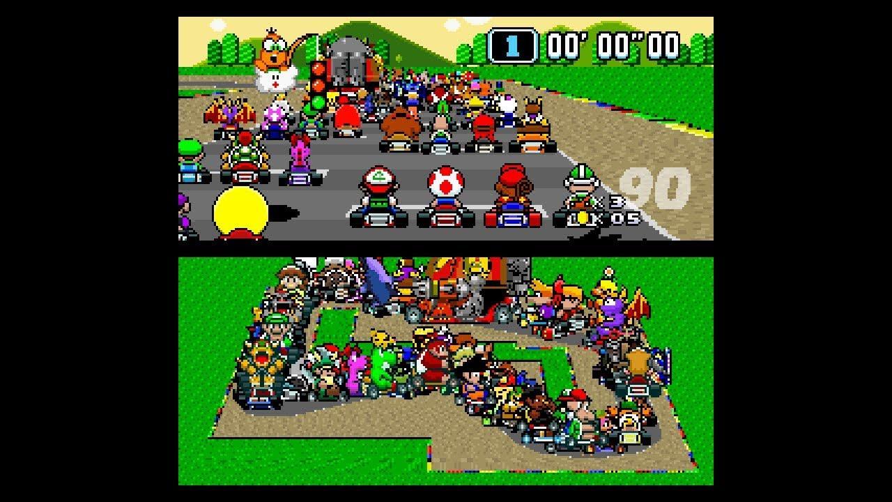 Fan Art Super Mario Kart With 101 Players Nintendosoup