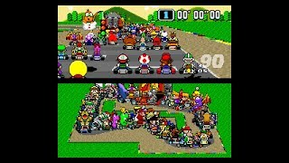 Super Mario Kart... with 101 players! (2019)