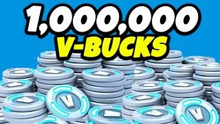 1,000,000 V-Bucks in Fortnite... | Chaos