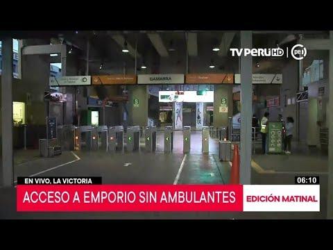 La Victoria: estación Gamarra del Metro de Lima habilita sus servicios