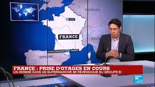 URGENT - Prise d'otages en cours à Trèbes : L'homme se revendique du groupe État islamique