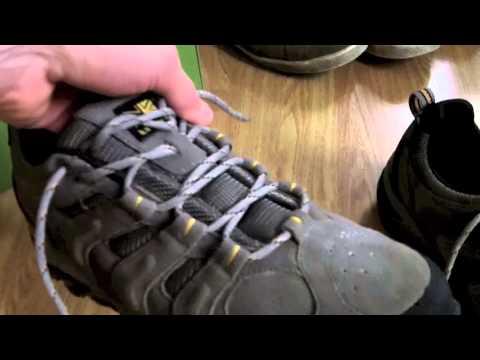 Karrimor Border Walking Shoes Closer