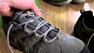 Karrimor Border Walking Shoes Closer Look