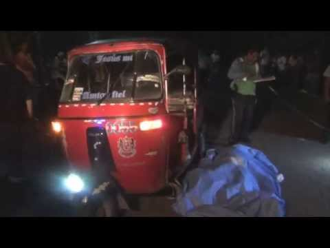 Pasajero de moto-taxi