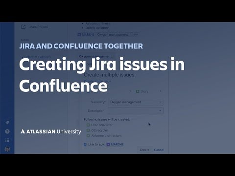 Creating Jira Issues In Confluence
