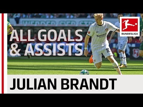 Julian Brandt - All Goals & Assists 2017/18