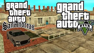 Como Instalar O Mapa Do GTA V No GTA San Andreas (Mod VISA BETA)