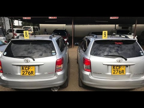 KRA Exposes Another Car Number Plate Scam at the Mombasa Port | Kenya news today